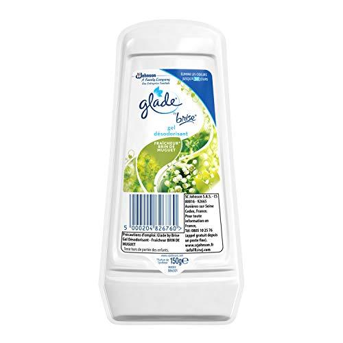 Glade by brisa Gel Sólido ambientador aroma a cable de muguete 150g–Lote de 2