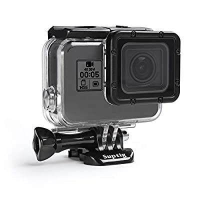 Suptig Case Housing Waterproof Case for Gopro Hero 7 Black Gopro Hero 5 Gopro Hero 6 Gopro Hero 2018 Action Camera Waterproof 147ft(45Meters) from Suptig