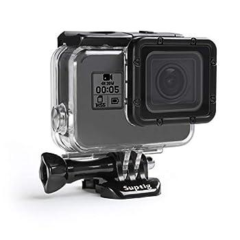 Suptig Case Housing Waterproof Case for Gopro Hero 7 Black Gopro Hero 5 Gopro Hero 6 Gopro Hero 2018 Action Camera Waterproof 147ft 45Meters