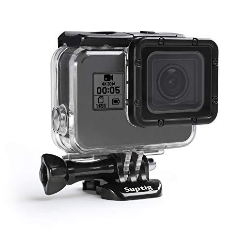 Suptig Case Housing Waterproof Case for Gopro Hero 7 Black Gopro Hero 5 Gopro Hero 6 Gopro Hero 2018 Action Camera Waterproof 147ft(45Meters)