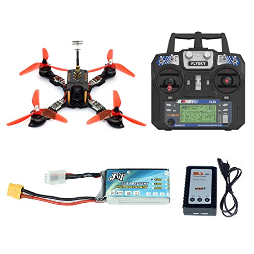 GEHOO GH 210mm RTF FPV Quadcopter Racing Drohne Mini Racer mit Flysky FS I6 Sender Omnibus F4 Pro (V2) Flight Controller