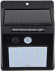 LED الطاقة الشمسية PIR استشعار الحركة ضوء الجدار في الهواء الطلق ساحة الطريق الرئيسية حديقة مصباح الأمن 20 LED