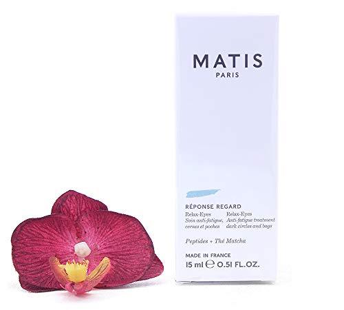 Matis Reponse Regard - Crema de ojos revitalizante para ojeras oscuras y hinchazón, 0,05 kg, 15 ml