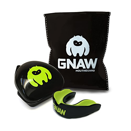 GNAW Kids Gum Shield – Protection for Kids playing Rugby, Hockey, and all contact sports (Small)