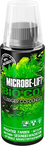 MICROBE-LIFT Bio Co2 – flüssiger CO2-Dünger, Kohlenstoffdünger für prächtige Aquarium Pflanzen, 118ml