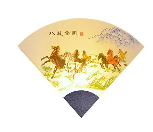 Leeslampen aan de muur bevestigde Chinese kunst acryl slaapkamerwand die eigentijdse wandlampen verlicht, weerspiegelend licht