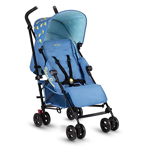 Silver Cross Zest Stroller, Compact and Lightweight Fully Reclining Baby To Toddler Pushchair – Lemon (New 2021)
