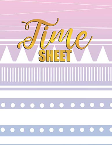 Time Sheet: Employee Time Log In And Out Tracking Sheet
