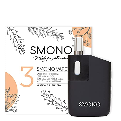 Smono 3.3 Vaporizer - Neuste Version mit Glasmundstück - kein Nikotin