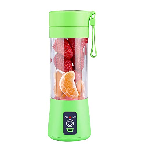 Portable Blender, Personal Size Blender Shakes and Smoothies Mini Juicer Cup USB Rechargeable