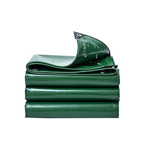 ZZYE Lona Cubierta de Lona Poli de Alta Resistencia, Resistente al Agua, Resistente a los Rayos UV, TRAPA DE ROP/Rip/Llegada, Espesor 0.5mm, 530 g / m2 Lona Impermeable (Size : 4X5)