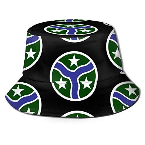 ENZOOIHUI 278Th Armored Cavalry Regiment und 38Th Cab Bucket Hat Unisex Sun Hat Bedruckter Fisherman Packable Travel Hat