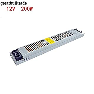LED Ultra-Thin Drive Switching Power Supply DC12v 60W 100W150W 200W 300W Special Power Supply for Light Box (DC12v 16.6A 2...