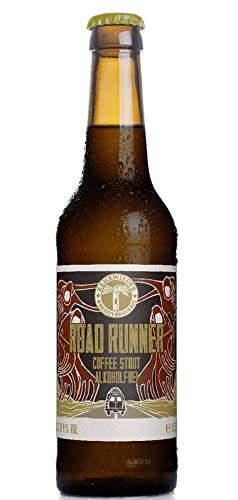 12 x 0,33ml Road Runner Coffee Stout - Alkoholfrei
