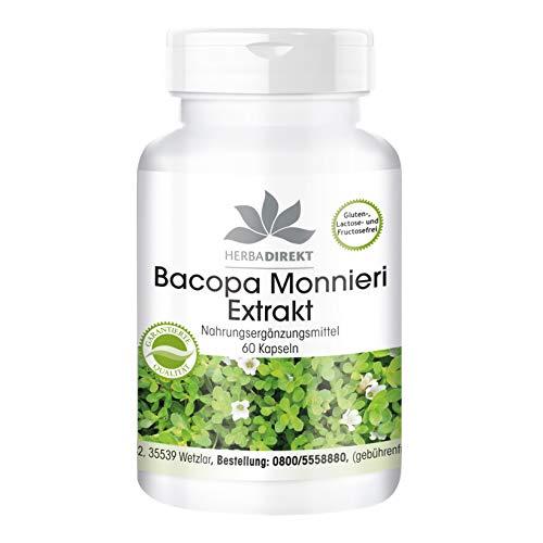 herba direkt - Bacopa Monnieri - extrait contenant 20% de Bacoside