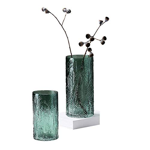 YISUNF Vase for Home Decoration Wedding Flower Bud Vase Or Decorative Glass Vase Office Has Good Corrosion Resistance Capabilities for Home Wedding (Color, Size : Free) Vase