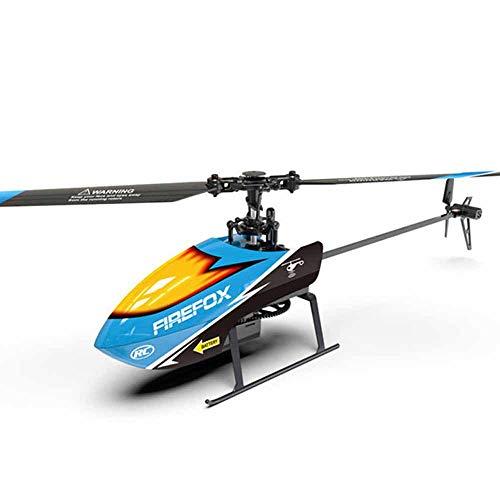 Weaston Modelo de avión de una Sola hélice 2.4G Helicóptero de Control...