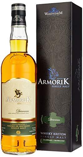 Armorik DERVENN Whisky Breton Single Malt + GB 46% Vol. 0,7 l