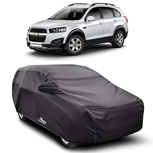 XG Brand Car Body Cover Special Design for Chevrolet Captiva (Gray with Mirror Pocket)