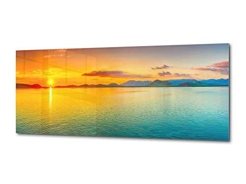 Concept Crystal Decoración de Pared en Vidrio Templado - fotoimpresión 125 x 50 cm – Serie Naturaleza 01C