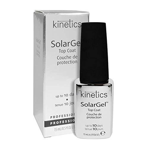 Solargel Top Coat 15ml - Brillo de uñas con efecto gel sin lámpara