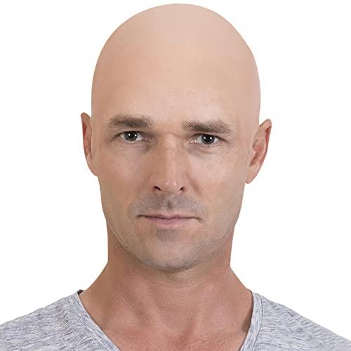 KANGAROO Halloween Accessories - Bald Cap, Beige