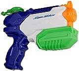 Super Soaker-SuperSoaker Microburst 2, Color Azul, Naranja, Blanco (Hasbro A9461EU8)
