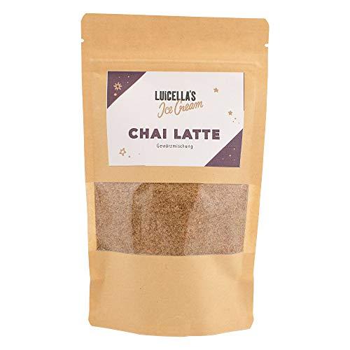 Chai Latte Pulver aus den Luicella\'s Eiscafés | 100{442bc067e65d7150540419620b37487ffd0215ad8f173ec0dcc1147883d1d5ef} natürlich | 25 leckere Tassen | Einrühren und genießen