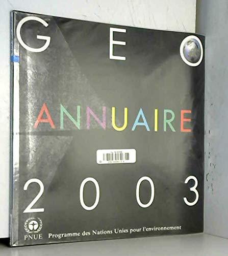 GEO annuaire 2003