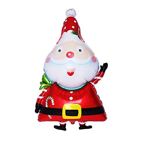 Siumir Christmas Balloon Santa Claus Balloon Foil Balloon Christmas Party Decorations Supplies