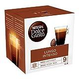 Nescafé Dolce Gusto Lungo Intenso - Café - 96 Capsules (Pack de 6 boîtes x 16)