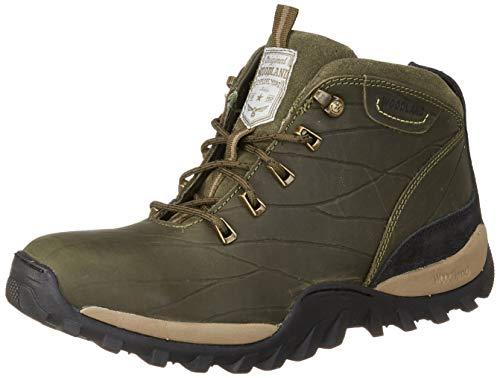 Woodland Men's Ogb 3325119_Olive Green_10 Leather Boots-10 UK (44 EU) (11 US) 3325119OLIVE