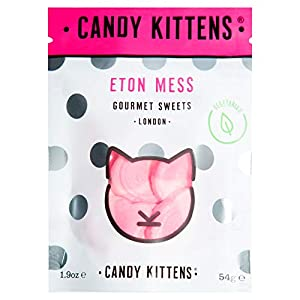 candy kittens vegetarian sweets - gluten-free - natural fruit flavour candy - gummy chewy gourmet sweets - eton mess 54g (single) Candy Kittens Eton Mess Vegetarian Sweets – Palm Oil Free, Natural Fruit Flavour Candy – Gummy Chewy Gourmet Sweets, 54g… 41qxvLHgyfL