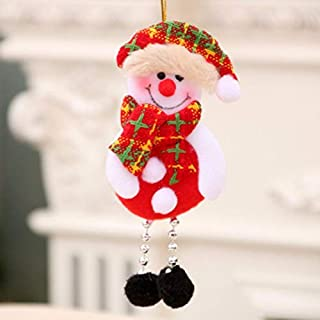 Topclouds Christmas Tree Hanging Dolls Pendants Party Christmas Decorations Ornaments