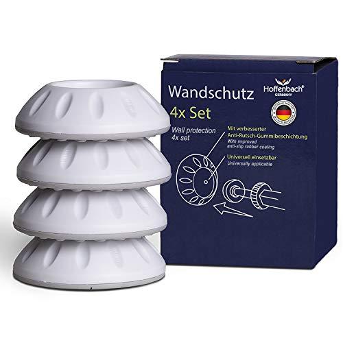 Hoffenbach® Wandschutz Pads für Treppengitter und Türgitter | 4er/8er Set | Kein Bohren notwendig | Für Baby, Kind, Hund | Färbt nicht ab |