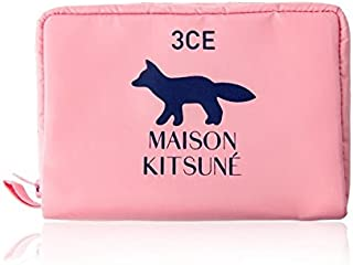 3CE MAISON KITSUNE POUCH #PINK ポーチ ピンク