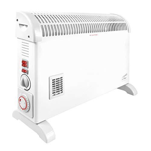 LTC LXUG06 Convectorverwarming met turbo-ventilator tijdprogramma convector verwarming elektronische verwarming verwarmingstoestel turboverafvoer 3 warmtestanden max. 2000 W.
