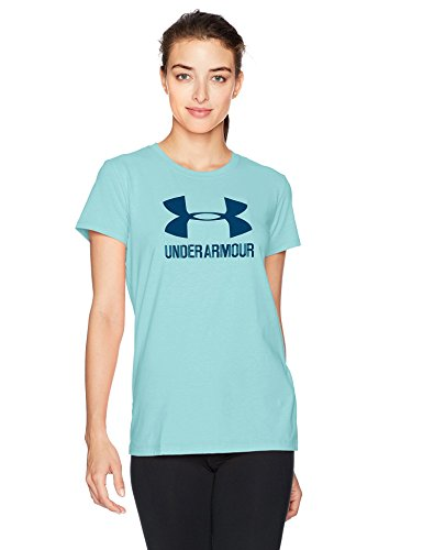 Under Armour 1298611-942 T-Shirt Femme, Blue Infinity, MD