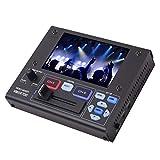 ユニデン Uniden 5.0V型液晶モニター搭載 ポータブル ビデオミキサー VMXR700