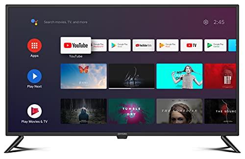 DYON Movie Smart 42 AD Android TV de 42 pulgadas (Full HD, sintonizador triple HD, Google Play Store, Google Assistant, Prime Video, Netflix, mando a distancia BT con micrófono), año 2021