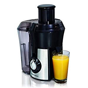"Hamilton Beach Pro Juicer Machine, Big Mouth Large 3"" Feedchute, Easy to Clean, Centrifugal, BPA Free, 800W (67608A… 