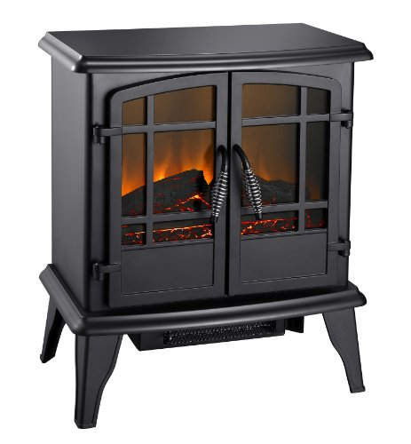 Pleasant Hearth SES-41-10 20' Electric Stove-Matte Black Finish