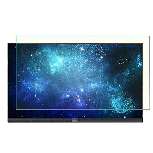 GFSD Protector de Pantalla de TV 27-75 Pulgadas, Protector Antideslumbrante, Fácil Instalación, Anti-UV/Prevención de Arañazos/Filtro de Luz Azul (Color : HD Version, Size : 43 Inch 942 * 529mm)