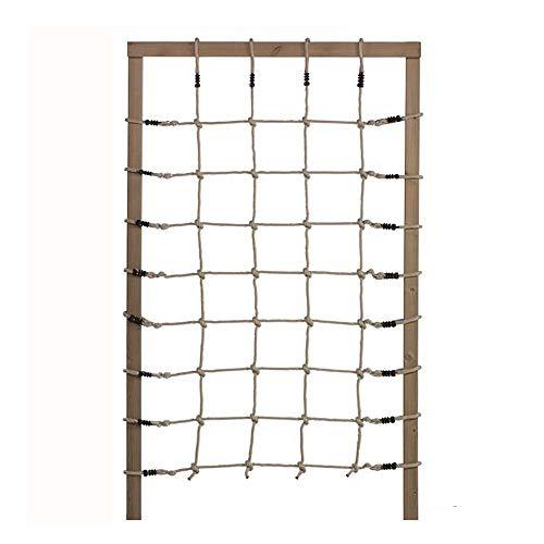 GHS Kletternetz 125x200 cm aus PP-Kunstfaser Seile 10 mm Ø (ohne Holzkonstruktion)
