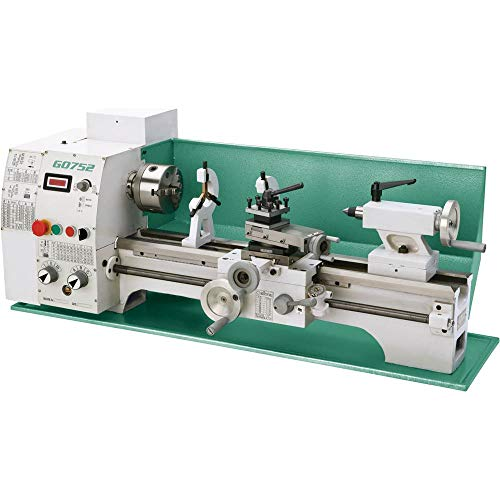 """Grizzly industrial g0752-10"""" x 22"""" variable-speed lathe"""