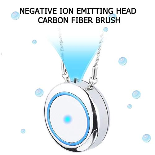 Purchase USmbuy Wearable Air Purifier Necklace/Mini Portable Air Freshner Ionizer, Negative Ion Generator, Low Noise, Remove Smoke/Dust, Odor Eliminator