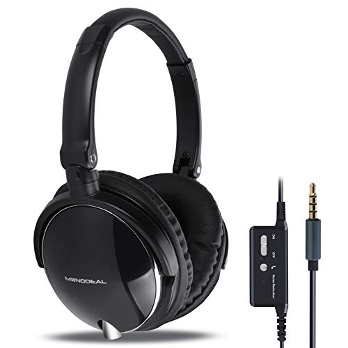 Active Noise Cancelling Headphones, MONODEAL Heavy Bass...