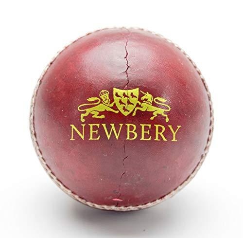 Newbery Cricket Club - Pelota de Críquet (5.5 cm), Color Rojo