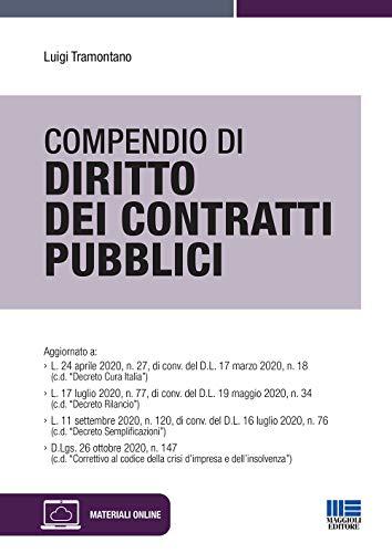 Compendio di diritto dei contratti pubblici