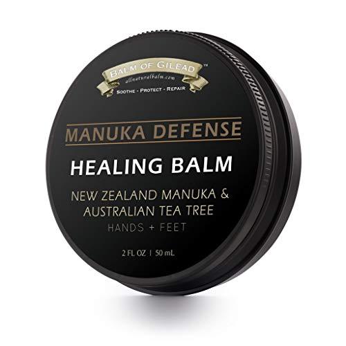 MANUKA DEFENSE Healing Balm with New Zealand Manuka & Australian Tea...